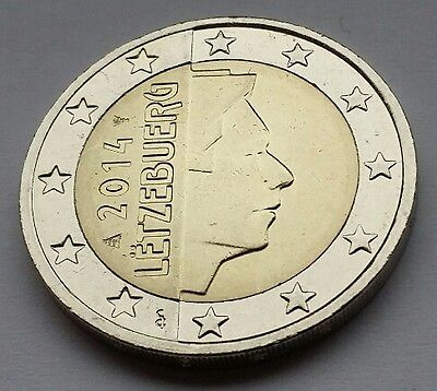 2 euro coin Luxembourg
