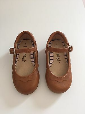 Next Baby Girl Tan Shoes Size 3