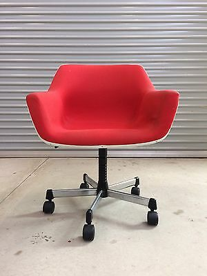 Sebel Hobnob Arm Chair On Castors Retro Vintage Original
