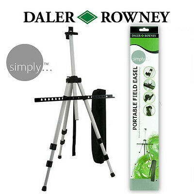 Artists Daler Rowney Light Weight Portable Field Easel for Display and Art