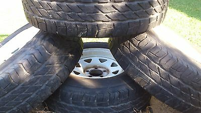 4WD TOYOTA HILUX 15in rims & ACHILLES A/T tyres 235/70