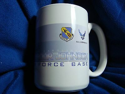 Seymour Johnson North Carolina Air Force Base Collectible 14 oz Coffee Mug Cup
