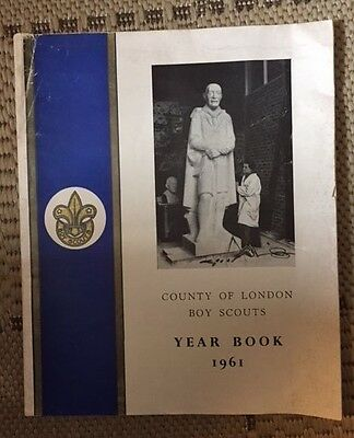 County of London Boy Scouts - Year Book 1961
