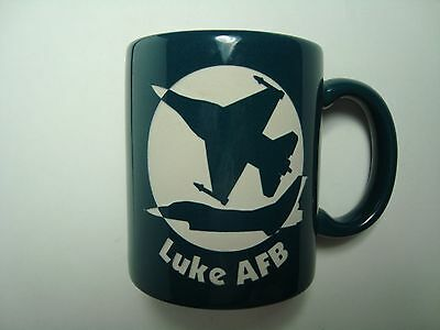 Luke AFB Air Force Base Collectible 11 oz Coffee Mug Cup - Unique Relief Art