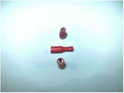 Red Female Bullet Terminal (pack of 100)