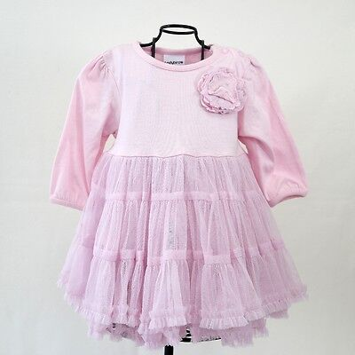 Ladybird Baby Girls Pink Special Occasion Frilly Formal Party Dress 0-3 Months