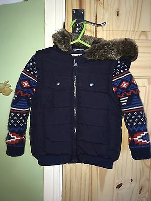 Boys Thick Winter Coat 12-18m