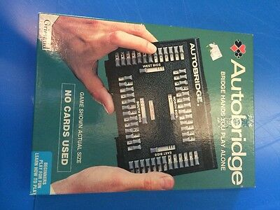 Vintage Grimaud Autobridge  intermediate play alone bridge set