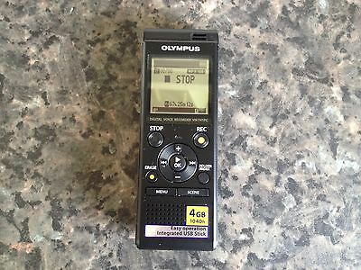 olympus dictaphone voice recorder vn 741pc excellent working order