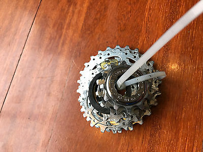 Campagnolo Veloce 10 speed road cassette. <300km use. 12-25