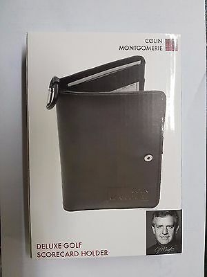 Colin Montgomerie Deluxe Golf Scorecard Holder