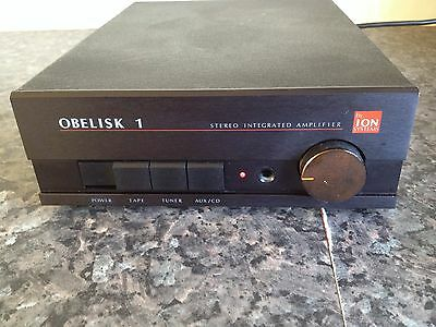 obelisk 1 amplifier by ion excellent working order