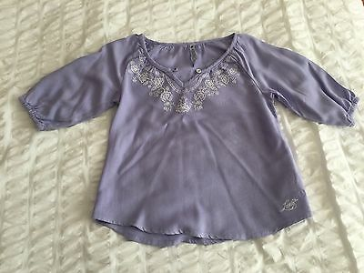 Girls Lilac Levi's Top Age 3-4