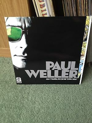 "Paul Weller All I Wanna Do Is Be With You 7"" Vinyl"