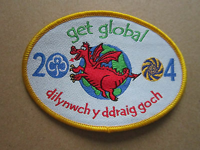 Get Global 2004 Girl Guides Woven Cloth Patch Badge