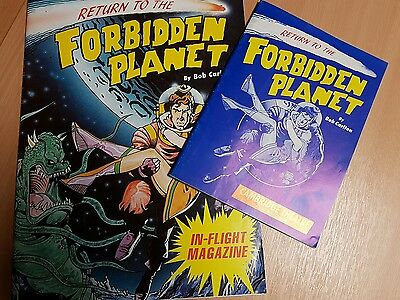 Return to the forbidden planet programme Cambridge Theatre and in-flight magazin