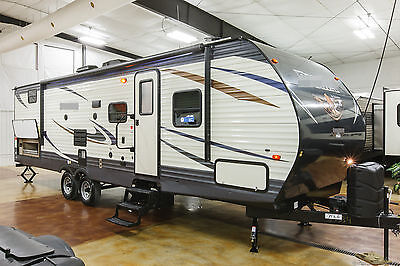 New 2017 29QBSS Bunkhouse Travel Trailer with Quad 4 Bunks & Outdoor Kitchen