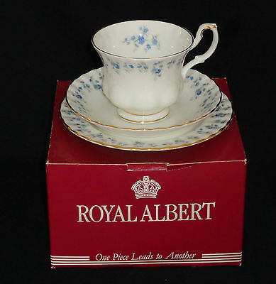 ROYAL ALBERT, MEMORY LANE, TRIO, 1st QUALITY.