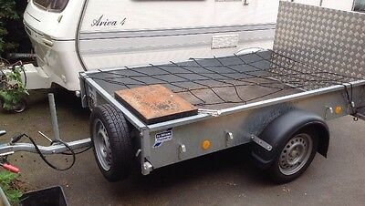 Ifor Williams P7E Unbraked Trailer