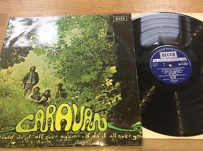 Caravan - If I Could Do It All Over Again Lp Decca Boxed