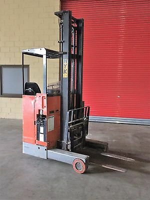 Electric Reach Forklift Nyk Sit On