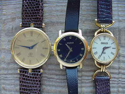 Gucci Watch lot parts or repair Lot
