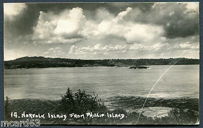 Norfolk Island, From Phillip Island,un,rp,pub Roy Bell,scratch In Plate Not On