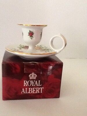 Royal Albert Old Country Roses Candle Holder New In Box
