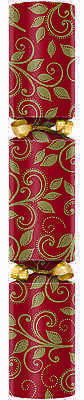 "Swantex Swan Mill Christmas Cracker 10"" Red/Green C1000-LRG-A (100 Crackers)"