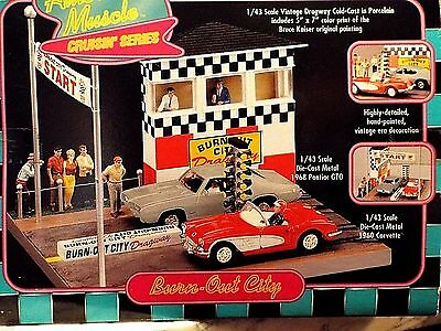 "1998 Ertl Collectible ""burn-Out City"" American Muscle Cruisin Series 1:43"