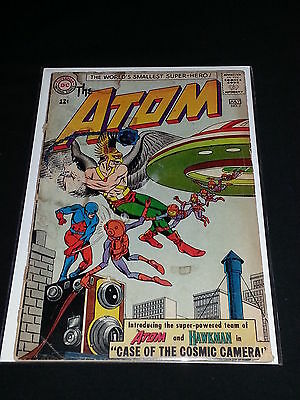 Atom #7 - DC Comics - June 1963 - 1st Atom and Hawkman Team-Up - 1st Print