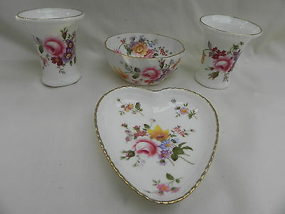 Royal Crown Derby Four Pieces POSIES Pattern