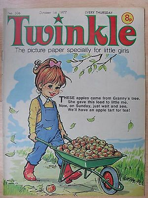 TWINKLE COMIC - 1st OCTOBER 1977 (1st - 7th) - RARE LADY'S 40th BIRTHDAY GIFT!!