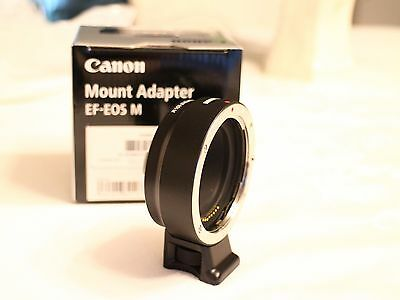 Canon Adapter for EF EF-S Lens to  EOS-M M3 M5 M6
