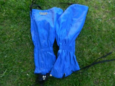 WALKING GAITERS by HIGHPOINT BLUE 100% NYLON