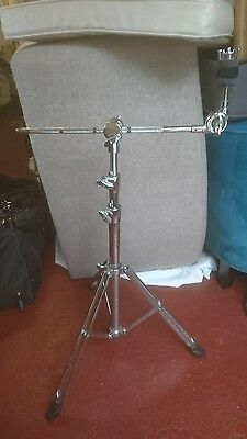 premier cymbal stand with disappearing boom arm heavy duty