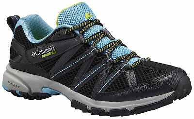Columbia Montrail Mountain Masochist III Shoe, Womens, Bounty Blue, Black, 7