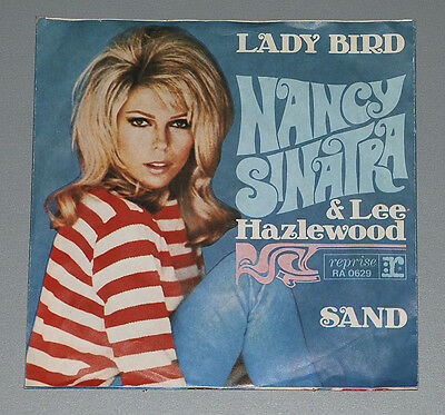 7 Single NANCY SINATRA LEE HAZLEWOOD Lady Bird Sand