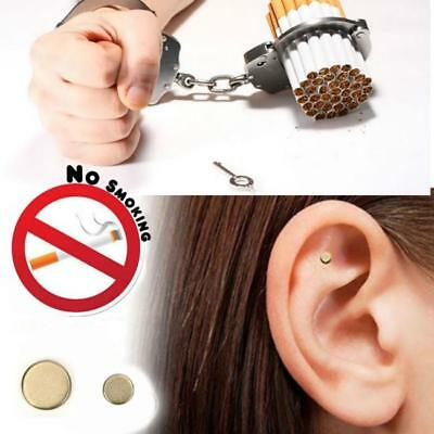Quit Smoke Ear Magnet Anti-Smoking Cigarettes Magnetic Weight loss Acupressure C