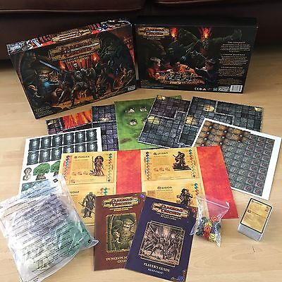 Dungeons & Dragons New & Unpunched ULTRA RARE Board Game PARKER 2003