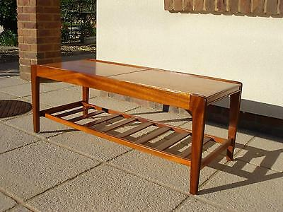 A Stunning Vintage Retro Danish | Eames | Teak Extending Tiled Coffee Table
