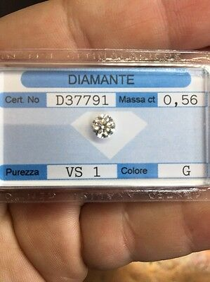 Diamante Taglio Brillante ct. 0.56