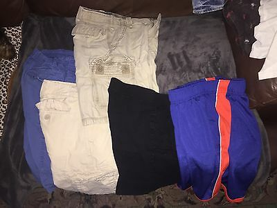 Huge lot/65 + PIECES OF BOYS CLOTHES SIZE 10-12. Great lot.