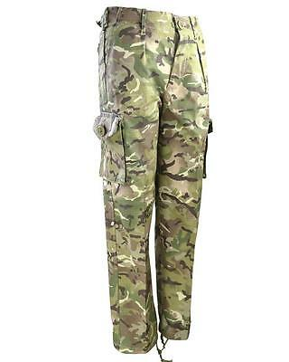 Kids Children's Btp Mtp Camouflage Trousers Combats Army Military Survival