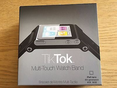 TikTok Multi-Touch Watch Band for iPod nano 6th generation 8GB 16GB