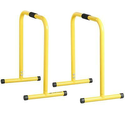 Parallel Workout Bars PUSH-UPS Dips Pull-Ups Hand Stand EXERCISE Muscle Training