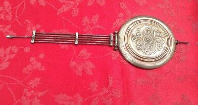 "Vienna Regulator Art Nouveau Gridiron  Pendulum 17 1/4"" Lg 5 1/2"" Dia 210  Grams"