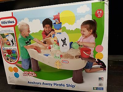 Little Tikes Anchors Away Pirate Ship Water Table - NEW