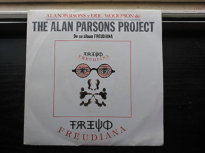 Single 7'' The Alan Parsons Project - Freudiana - Emi Spain 1990 Vg+