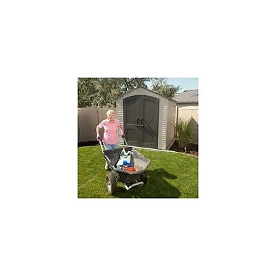 7X7 Lifetime Products Garden Shed With Floor